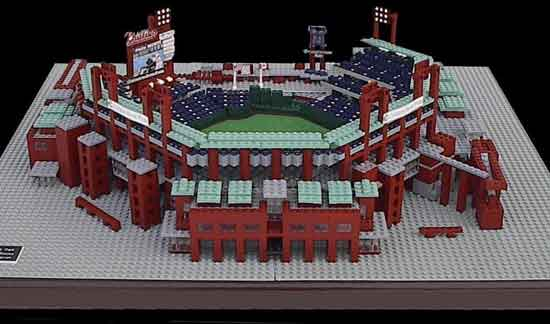 You favorite baseball parks — Lego style : Sportscolumn Blog